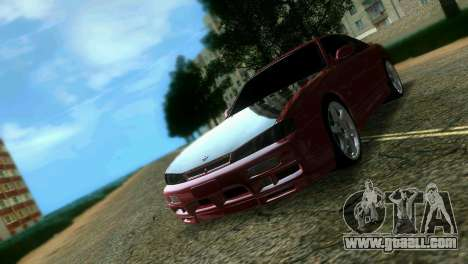 Nissan Silvia S14 Light Tuning for GTA Vice City back view
