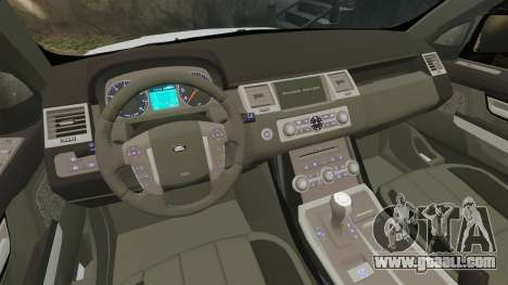 Range Rover Sport Autobiography 2013 Vossen for GTA 4 inner view