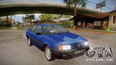 Volkswagen Passat B3 IVLM for GTA San Andreas back view