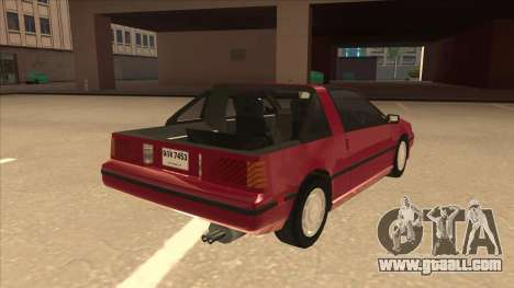 Nissan EXA L.A. Version for GTA San Andreas right view