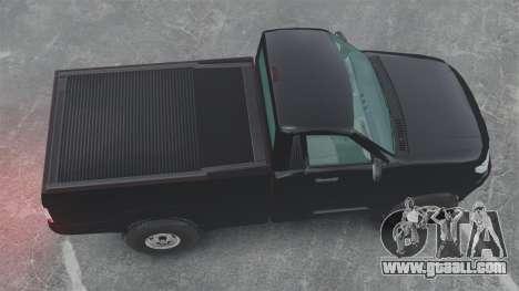 UAZ Patriot pickup for GTA 4 right view