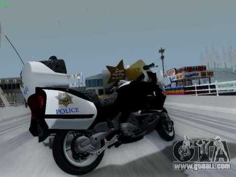 BMW K1200LT Police for GTA San Andreas