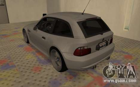 BMW Z3 M Power 2002 for GTA San Andreas back left view