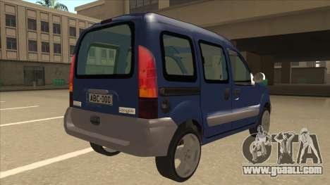 RENAULT KANGOO v2 for GTA San Andreas right view