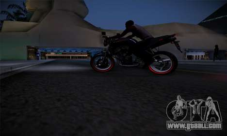 Ducati FCR900 2013 for GTA San Andreas left view
