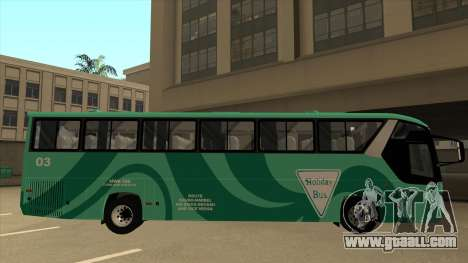 Holiday Bus 03 for GTA San Andreas back left view