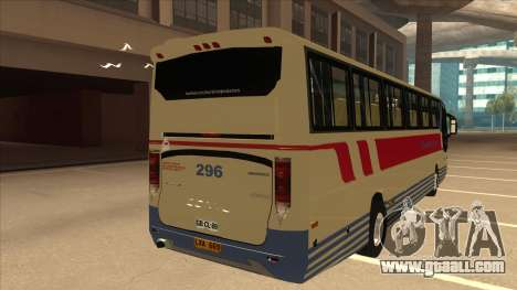 Davao Metro Shuttle 296 for GTA San Andreas right view