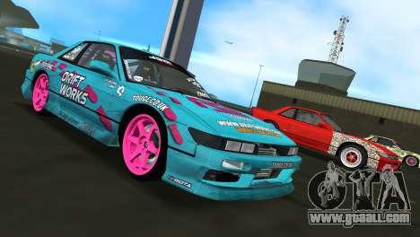 Nissan Silvia S13 Drift Works for GTA Vice City
