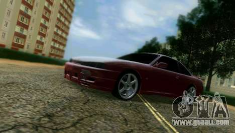 Nissan Silvia S14 Light Tuning for GTA Vice City right view