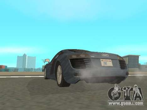 Audi R8 for GTA San Andreas right view