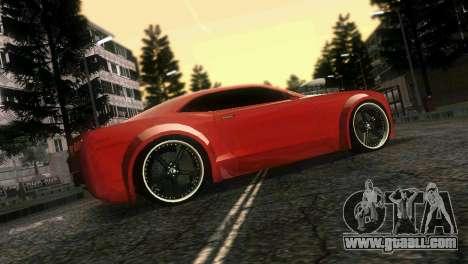 Chevrolet Camaro JR Tuning for GTA Vice City upper view
