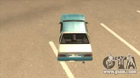 Nissan EXA L.A. Version for GTA San Andreas interior