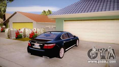 Lexus LS 600h L for GTA San Andreas right view