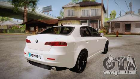 Alfa Romeo 159 for GTA San Andreas right view