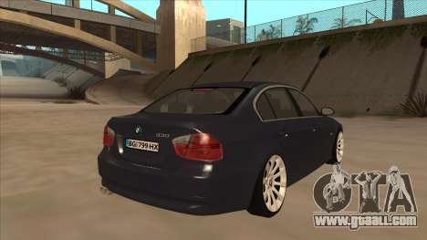 BMW 330 e90 for GTA San Andreas right view