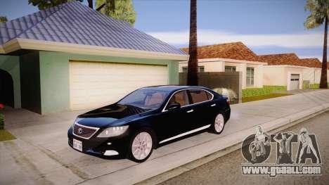 Lexus LS 600h L for GTA San Andreas