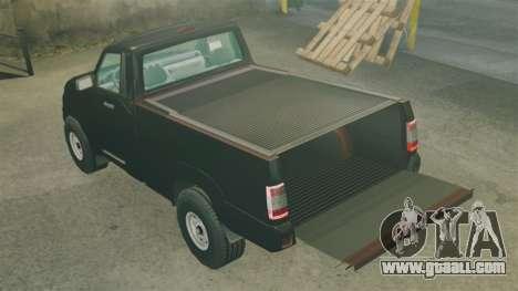 UAZ Patriot pickup for GTA 4 side view