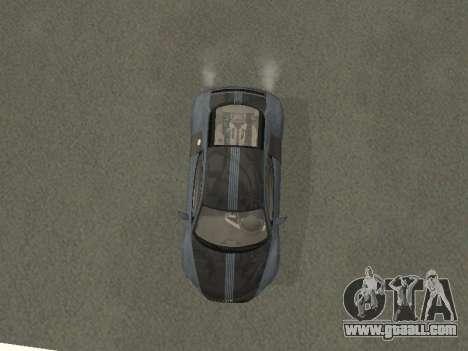Audi R8 for GTA San Andreas inner view