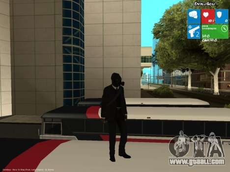 The bank robber for GTA San Andreas