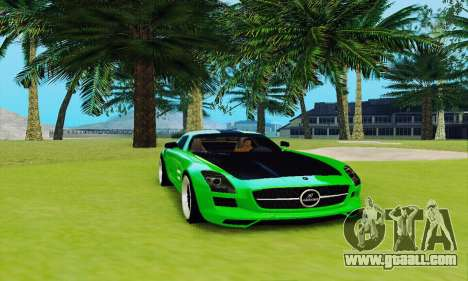 Mercedes SLS AMG 2010 Hamann v2.0 for GTA San Andreas
