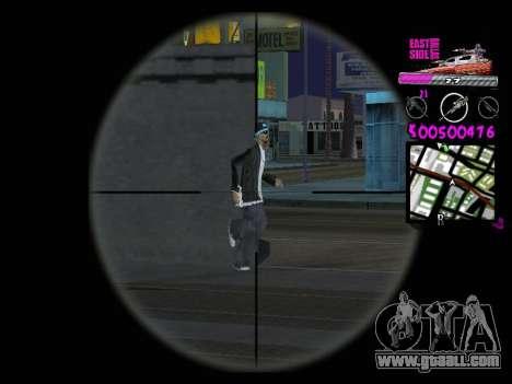 C-HUD by Kerro Diaz [ Ballas ] for GTA San Andreas