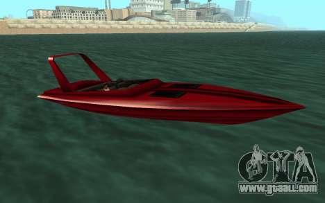 Vice City Squallo II for GTA San Andreas