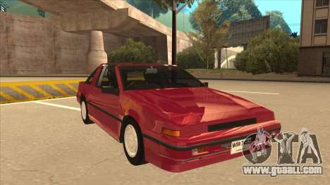 Nissan EXA L.A. Version for GTA San Andreas left view