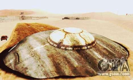 UFO Crash Site for GTA San Andreas forth screenshot