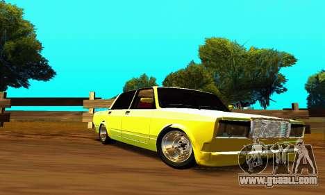 VAZ 2107 VIP for GTA San Andreas inner view