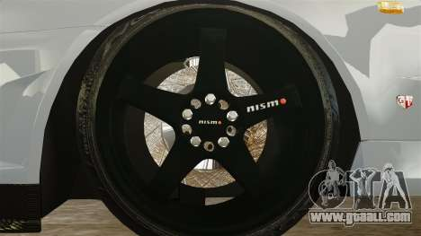 Nissan Skyline R34 for GTA 4 back view