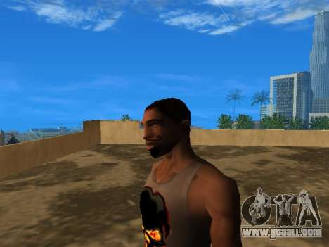The new face of CJ for GTA San Andreas third screenshot