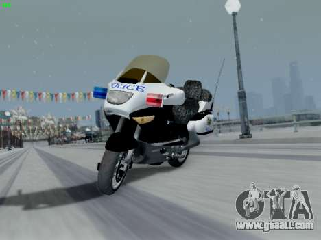 BMW K1200LT Police for GTA San Andreas side view