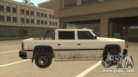 Declasse Rancher FXT for GTA San Andreas back left view