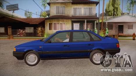 Volkswagen Passat B3 IVLM for GTA San Andreas left view