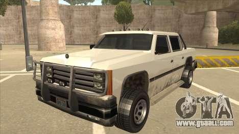 Declasse Rancher FXT for GTA San Andreas