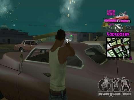 C-HUD by Kerro Diaz [ Ballas ] for GTA San Andreas third screenshot