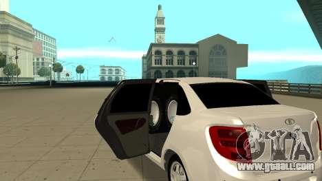 Lada Granta Limousine for GTA San Andreas right view