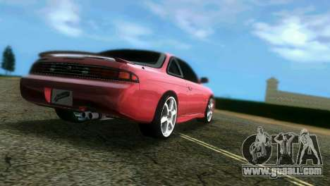 Nissan Silvia S14 Light Tuning for GTA Vice City left view