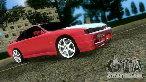 Nissan Silvia S14 Light Tuning for GTA Vice City