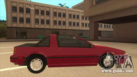 Nissan EXA L.A. Version for GTA San Andreas back left view