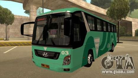 Holiday Bus 03 for GTA San Andreas