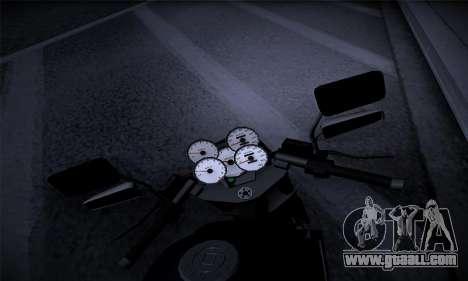 Ducati FCR900 2013 for GTA San Andreas back view