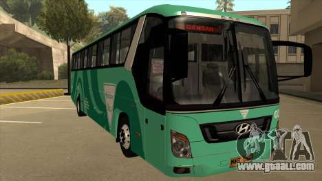 Holiday Bus 03 for GTA San Andreas left view