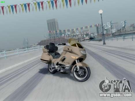 BMW K1200LT for GTA San Andreas