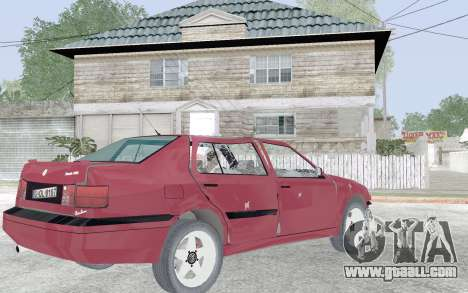 Volkswagen Vento for GTA San Andreas upper view