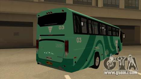 Holiday Bus 03 for GTA San Andreas right view