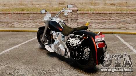 Harley-Davidson for GTA 4 left view
