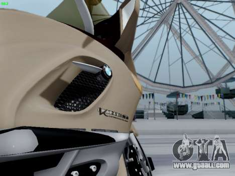 BMW K1200LT for GTA San Andreas back left view