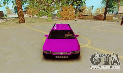 Opel Astra F for GTA San Andreas back view