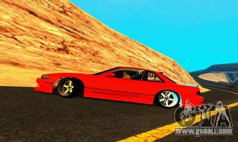 Nissan Silvia S13 HellaDrift for GTA San Andreas upper view
